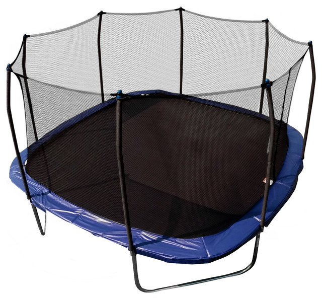 14ft rectangular trampoline tents is rectangle trampoline with enclosure and rectangular trampoline mats