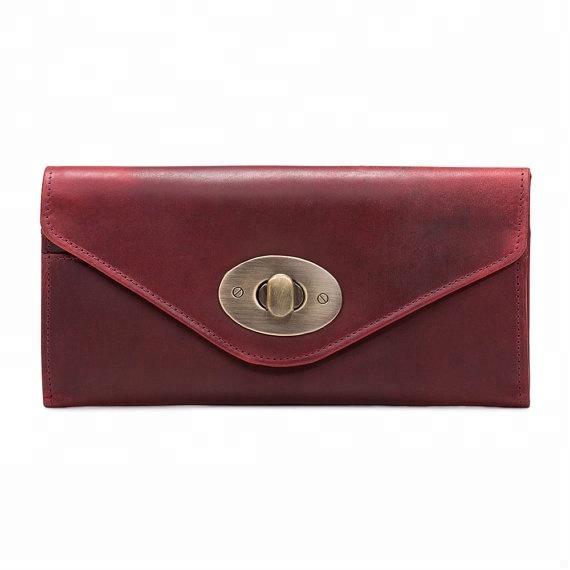 Antique Brass Oval Handbag Twist Lock Leather Wallet Twist Lock - 2.3cmx1.6cm