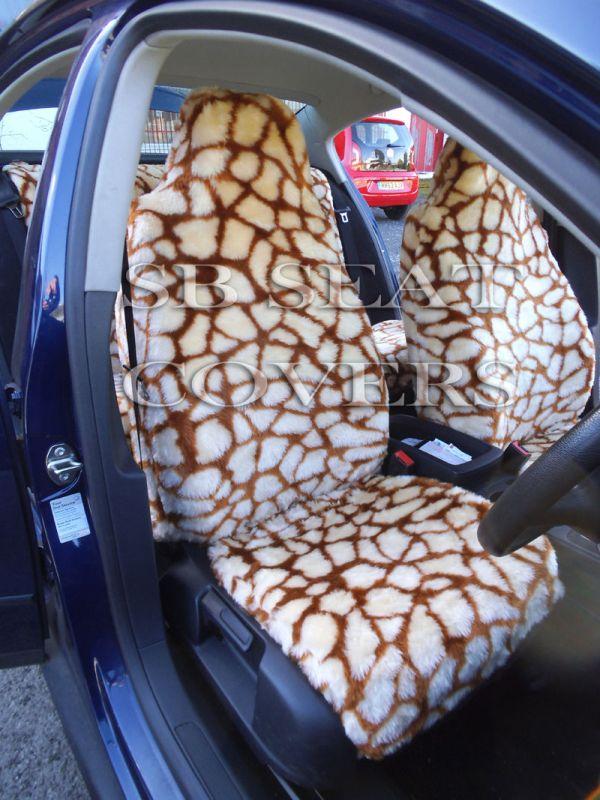 Miraculous Giraffe Fluffy Faux Fur Car Seat Covers Buy Universal Car Seat Cover Full Set Most Comfortable Car Seat Cover Set Car Seat Covers Product On Inzonedesignstudio Interior Chair Design Inzonedesignstudiocom