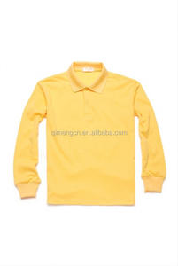 New product simple design school uniform polo shirts with good prices