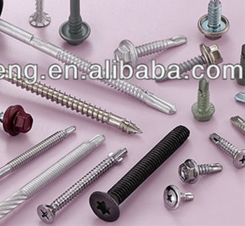 China High Quality Rubber Tipped Screws Different Types Of Anchor ...