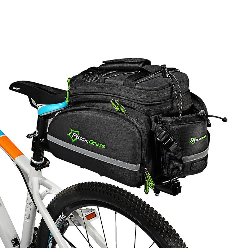 ROCKBROS Radfahren Rear Sattel Multifunktionstaschen 3 in 1 Rear ...