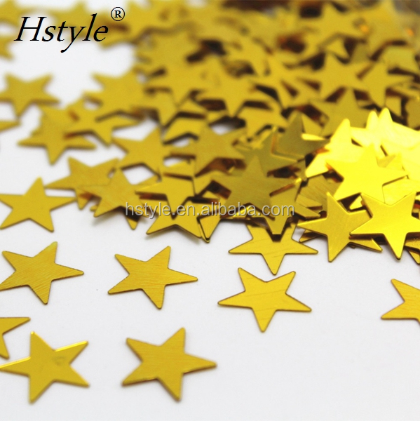 Birthday Party Wedding Decoration 1cm Stars Table Confetti Red Black Blue Foil Stars SVPD217