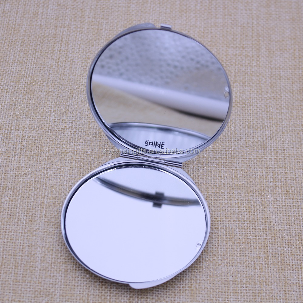 New cosmetic pocket blank sublimation mirror