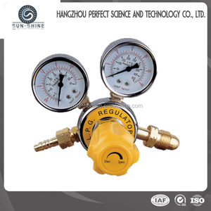 LPG Gas Pressure Regulator With Gauge LR-02