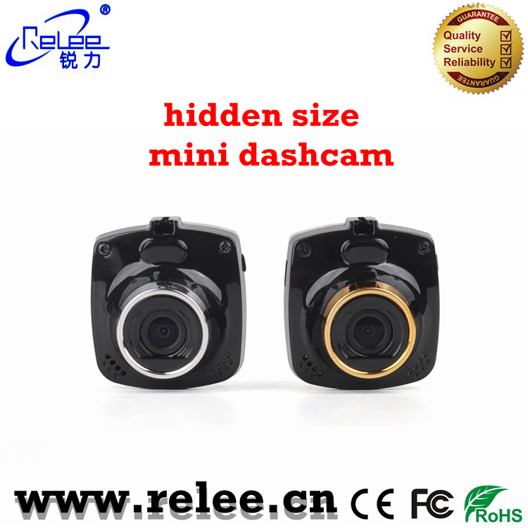 1.5inch mini size motion detection cycle recording car dash mount video recording DVR camera