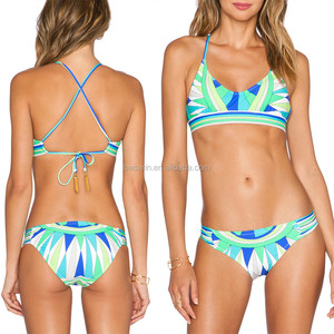 OEM fashion school young sexy girl bikini swimming wear for hot girls photos
