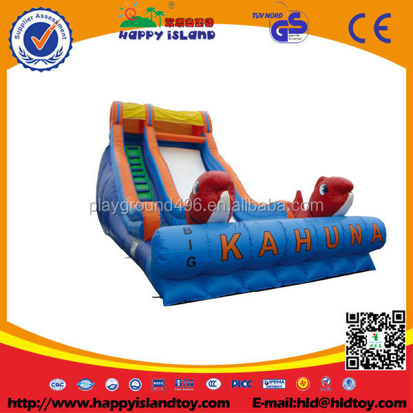 2016 hot sale Entertainment Inflatable Slide Products Equipment for kids