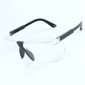 Anti-slip laser goggles function High transparent safety goggles en 166