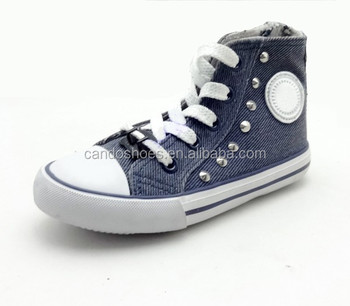 57ec509c6fa5 Grey Canvas High Cut Shoes For Women - Buy Leisure Canvas ...