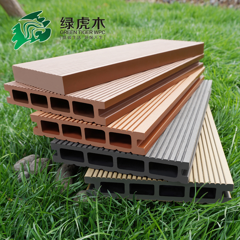 Manufacturer tongue and groove composite decking tongue for Non slip composite decking