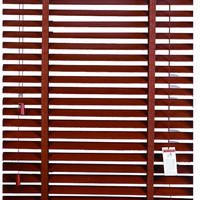 50mm faux wood blinds arched window shutters