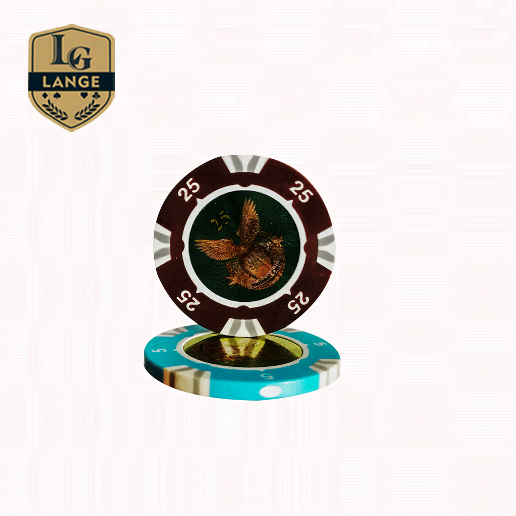 Professionele OEM Supply Custom Design Casino RFID Metalen Poker Chips