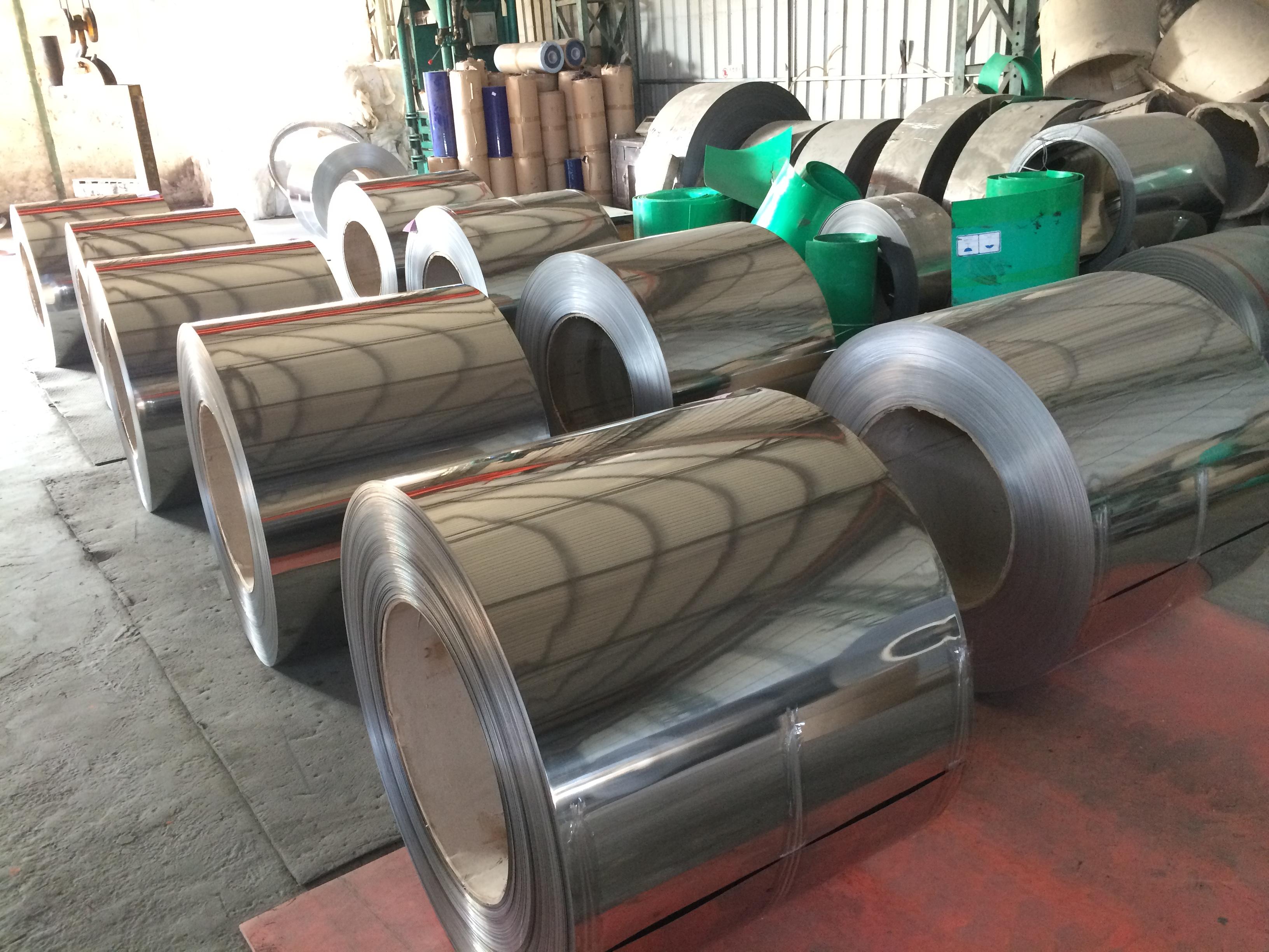 410 201 430 ba stainless steel coil acero inoxidable precio por kg