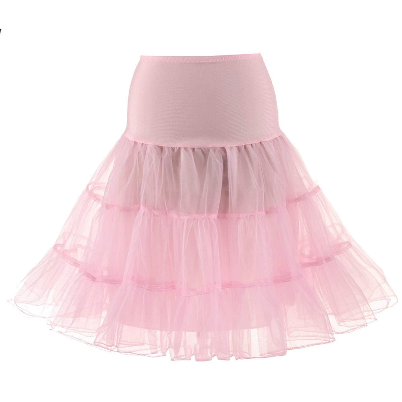 1aa05c4c7 Get Quotations · Women's 50s Vintage Petticoat Skirts Crinoline Tutu  Underskirts Rock Party Ballet Skirt S M L XL