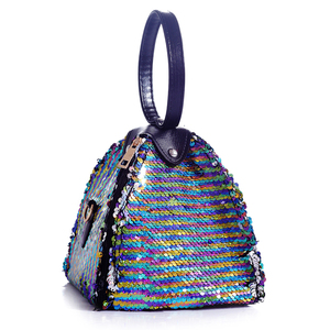 Most fashion colorful sequin European and USA favorite bag