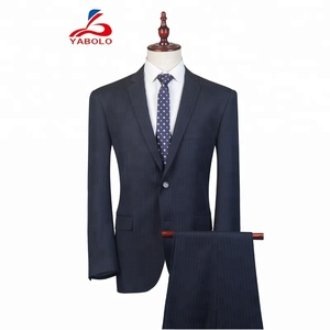 new design bespoke strip men suits