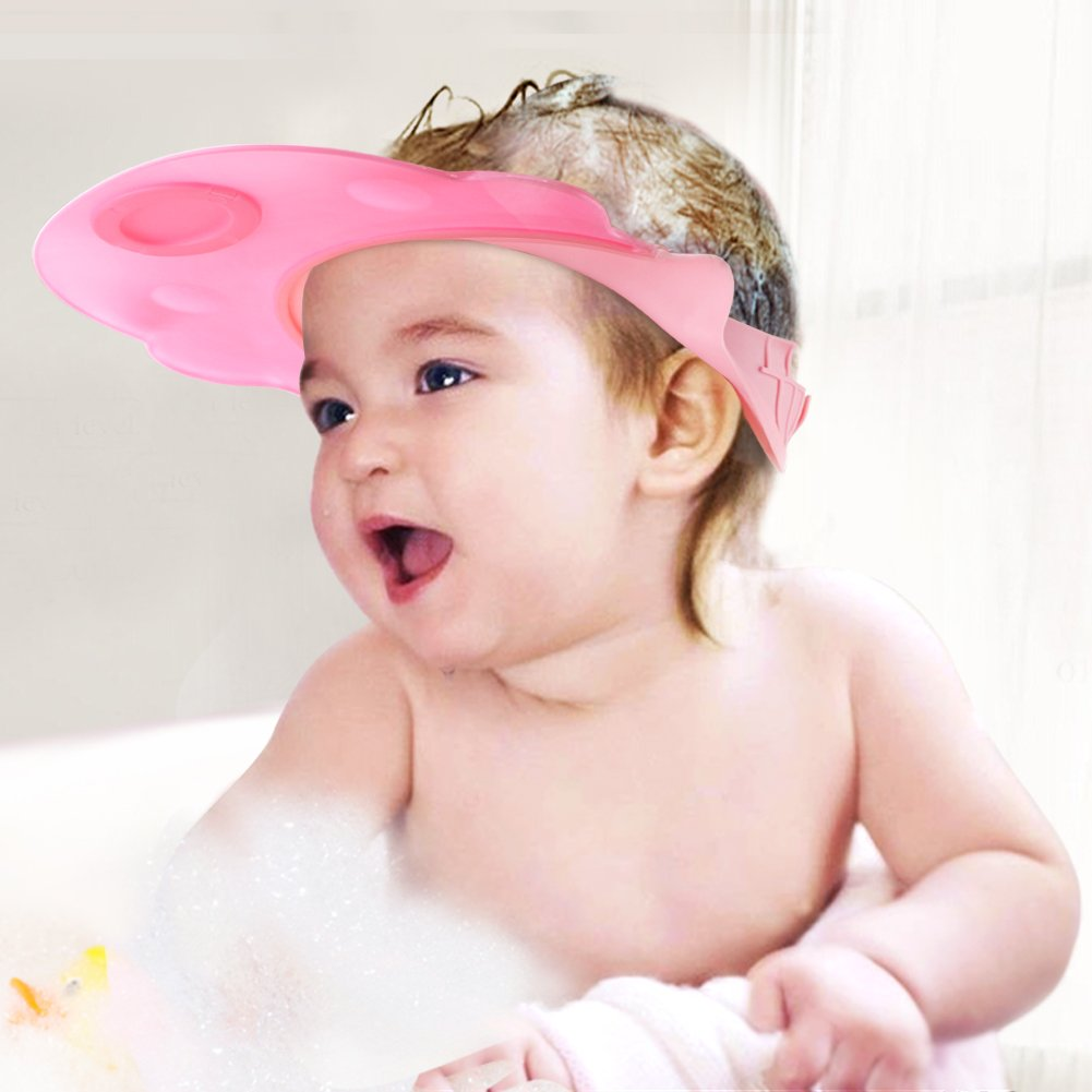 Bath & Shower Bath Cheap Price 1pc Children Baby Bath Shower Head Protect Shampoo Shower Water Resist Adjustable Cap For Washing