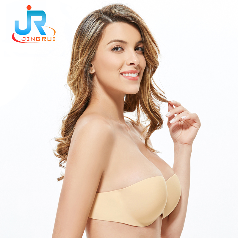 New Bra!!!wholesale strapless silicone bra women underwear backless strapless bra