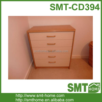 Latest wooden 5 drawer tool cabinet for home use