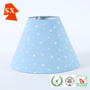 Barrel plastic candle holders TC fabric metal children reading table lamp shade