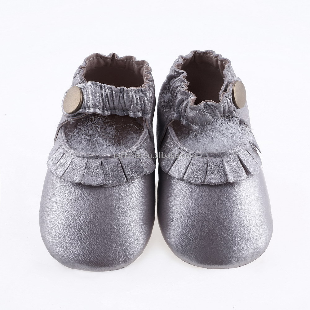 2015 new fashion leather baby boots genuine leather baby moccasin shoes