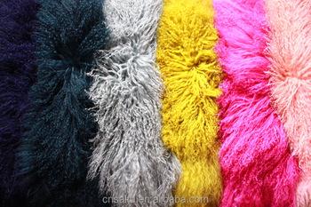 Mongolian Lamb Fur Pelt Skin Plate Tibetan Kalgan