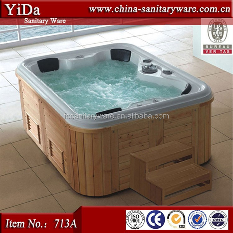 Stylish Luxury Spa Bathtub,Big Size Bathtub For Family,Wooden ...