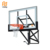 "Wall Mounted Adjustable Steel Basketball Hoop with 60"" Backboard"