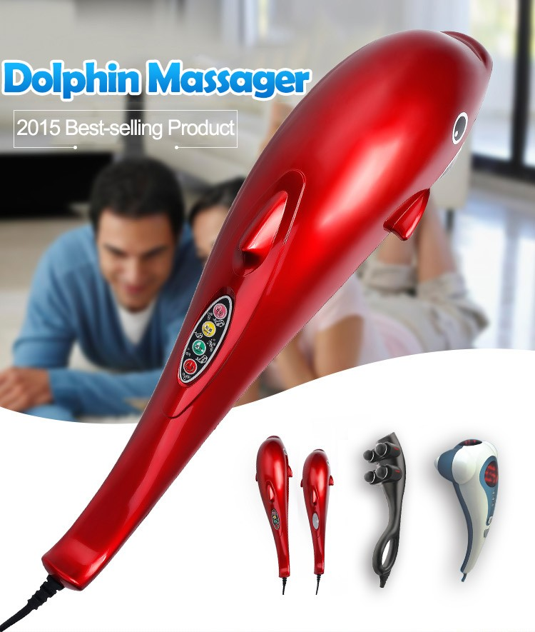 Massager dolphin vibrating