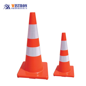 Filter witch hat style pvc traffic cone