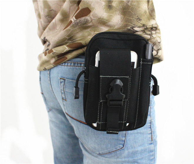 fb3febfb31e Buy Molle Military Tactical Waist Bag Men EDC Army Fanny Pack Casual 5.7  inch Phone Belt Bag Outdoor Travel Sport Waist Pack 0005 in Cheap Price on  ...