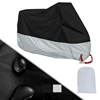 Waterproof Sun Motorcycle Cover With Lockholes