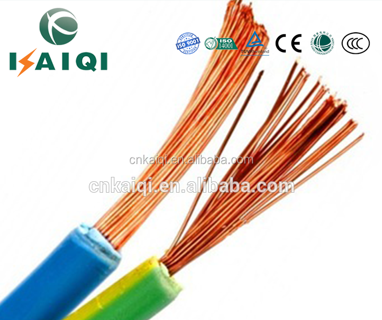 2.5 1.5 4 6 10 Sq Mm Pvc Insulated Copper Wire,Electrical Household ...