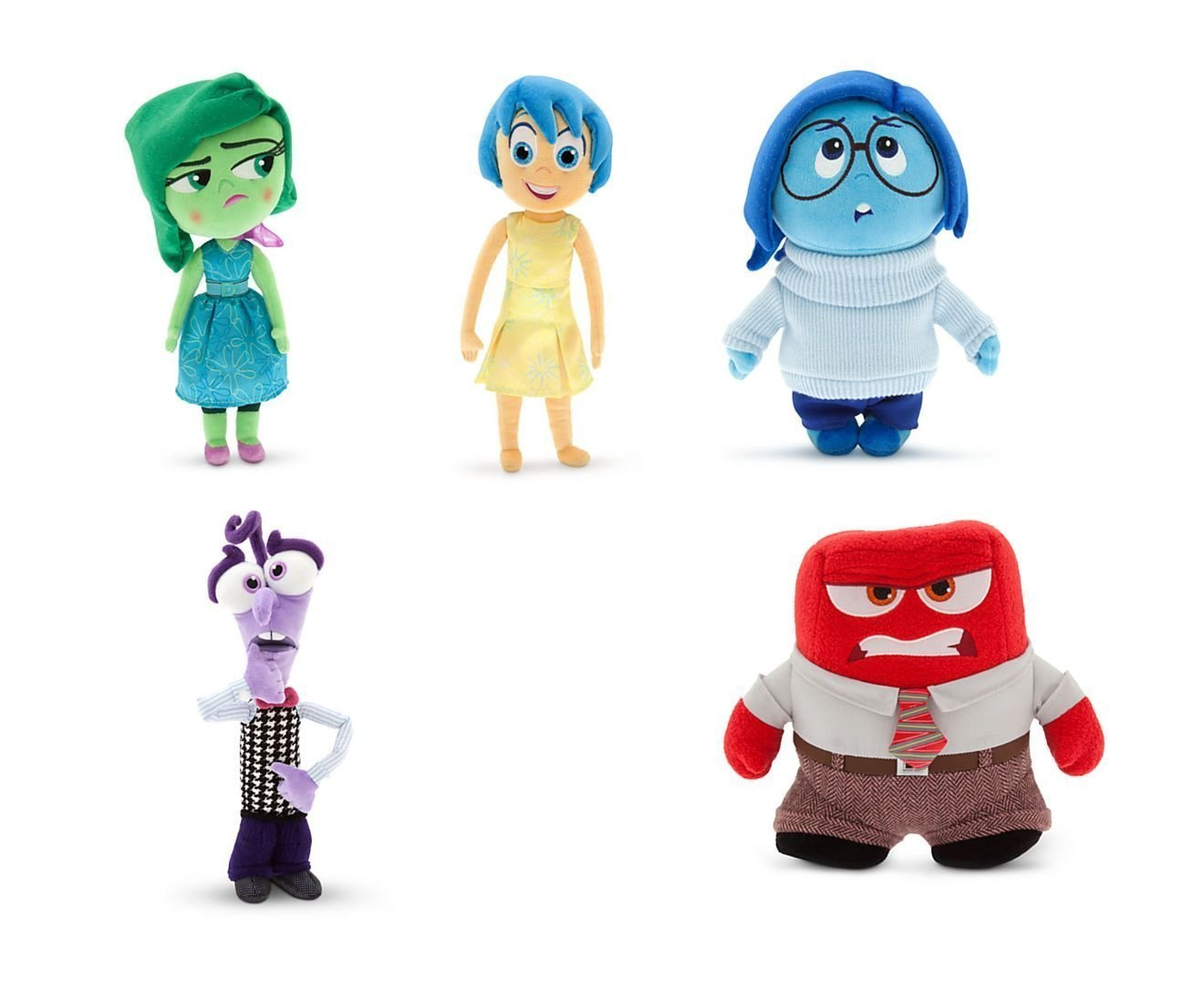 Anger Inside Out Small Plush