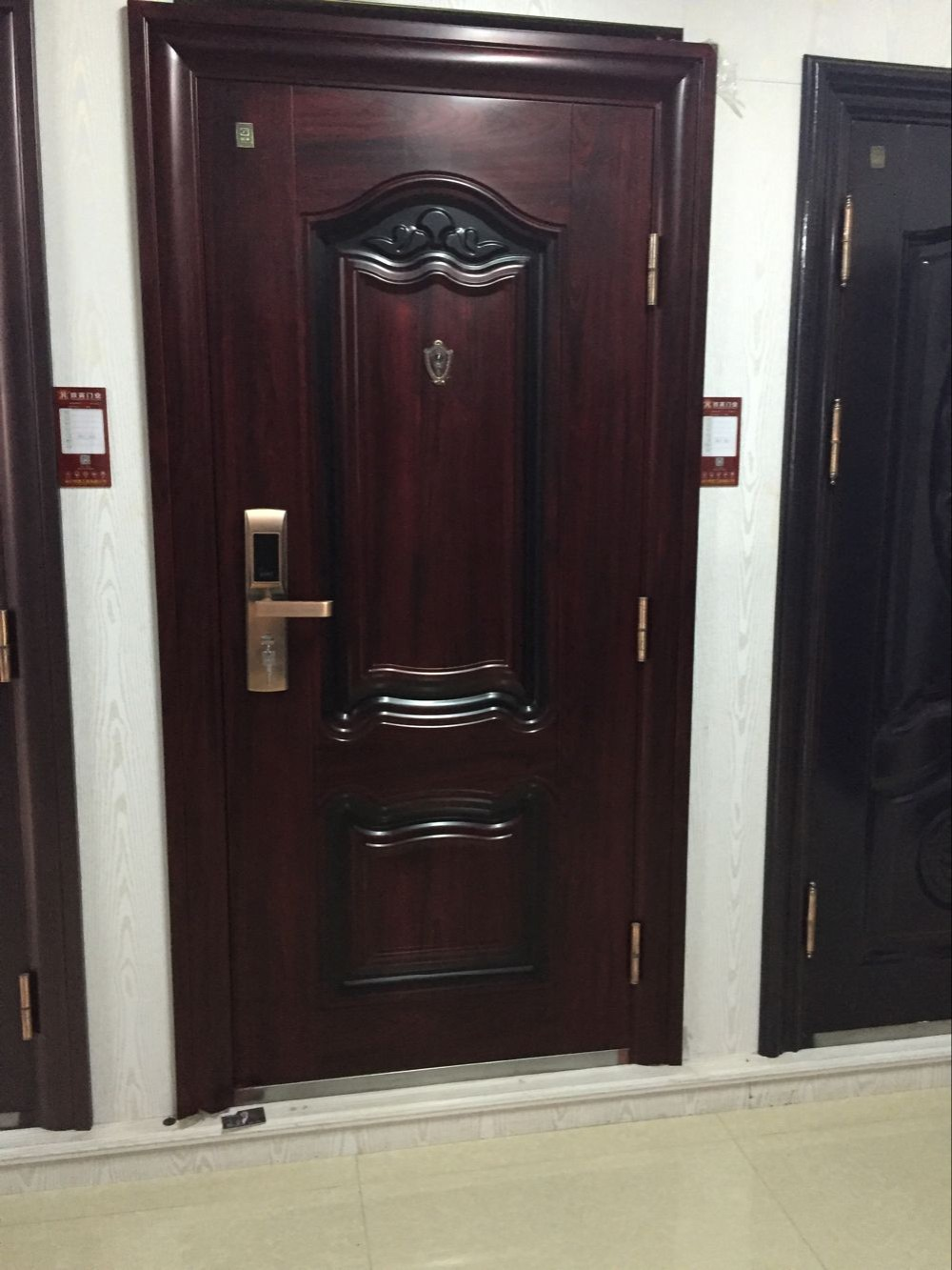 iron custom door milan home archtop midwest doors