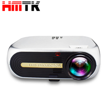 Hot Portable Multimedia Home theater projectors VGA HDMI USB intelligent mini hd led projector for more than 30,000 hours life