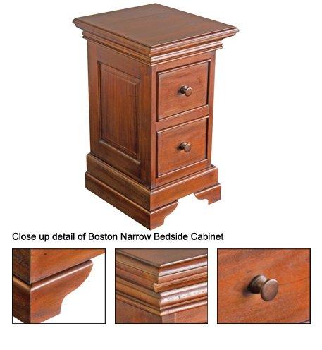 boston troite table de chevet rangement salon id de produit 105529762. Black Bedroom Furniture Sets. Home Design Ideas