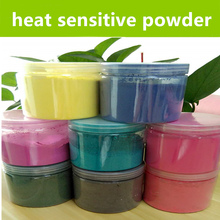 heat sensitive dyes thermochromic pigment color changing by temperature paint