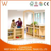 2017 New montessori wooden changing table baby children folding desk
