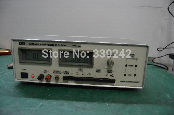 USED MODEL-152A SUNLIGHT IMPEDANCE METER/FREQUENCE COUNTER MODEL-152A TESTED