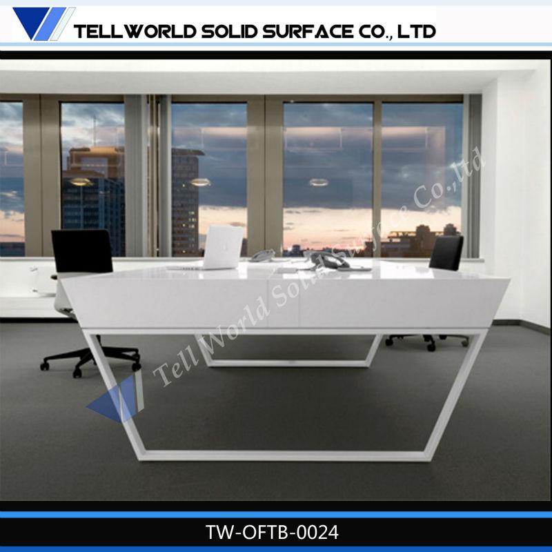 moderne table mobilier de bureau design de la table de patron prix professionnel bureaux de. Black Bedroom Furniture Sets. Home Design Ideas