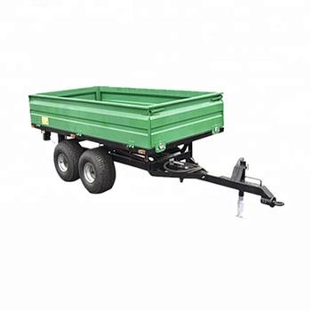 4 Roues Tracteur Agricole Remorque Basculante Hydraulique,Outils De ...