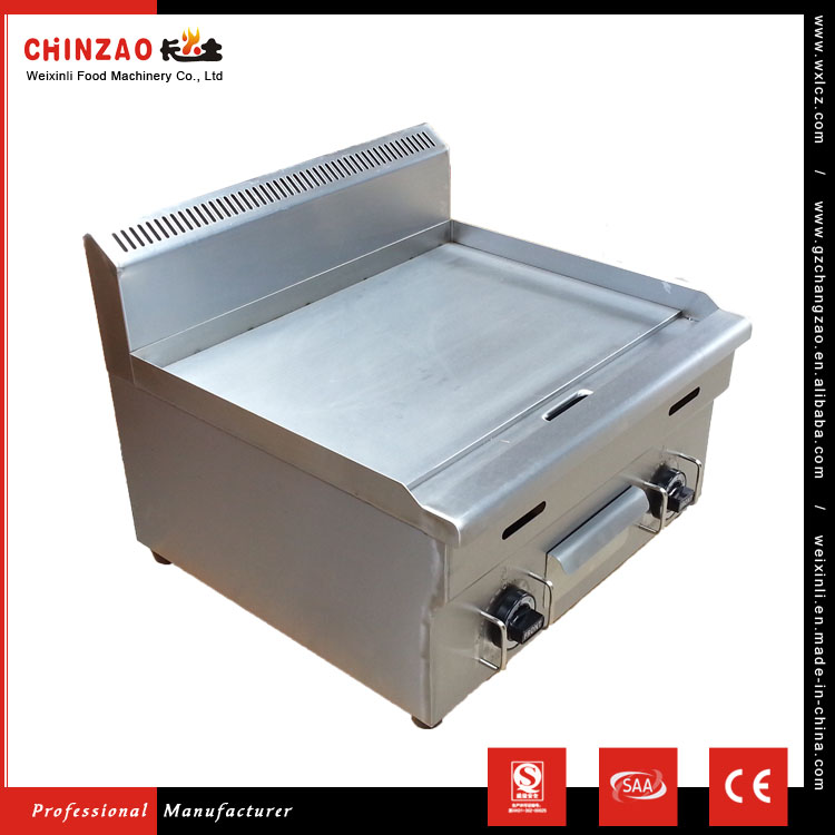 CHINZAO Trending Hot Products Stainless Steel Flat Plate Gas Grill Griddle For Efficient heat