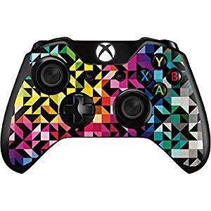 Geometric Xbox One Controller Skin - Chromatic 02 Vinyl Decal Skin For Your Xbox One Controller