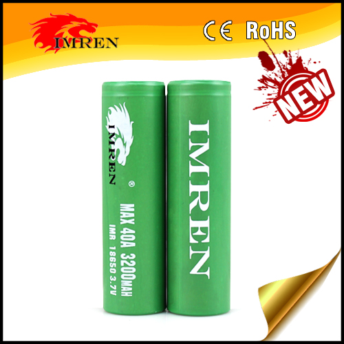 Cheap lifepo4 batteries imren 18650 3200mah 40a battery imren 18650 laptop bateries