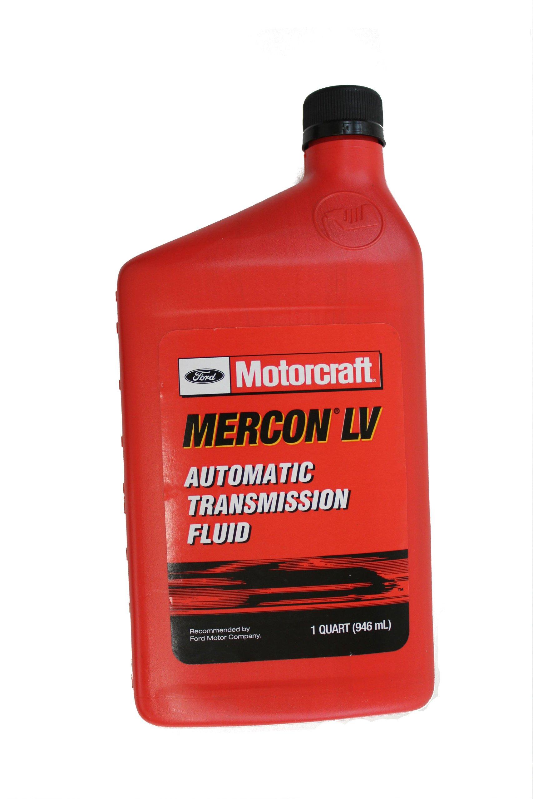 Genuine Ford Fluid XT-10-QLVC MERCON-LV Automatic Transmission Fluid - 1