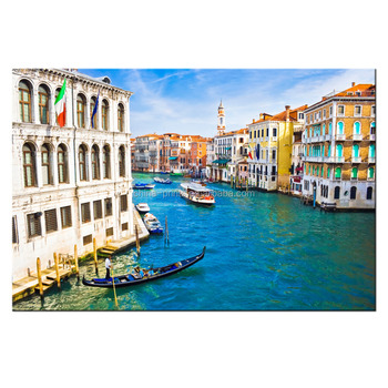 The Beauty Of Venice Canvas Prints Italy Famous Scenic Spot Canvas ...