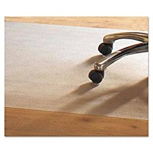"""Mammoth Office Products - Pvc Chair Mat For Hard Floors 46 X 60 No Lip Clear """"Product Category: Office Furniture/Chair Accessories"""""""