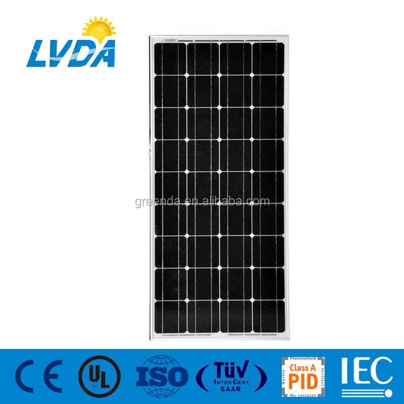 Hot sale 100W 150w 300w Mono Solar PV Panels with High efficiency Power